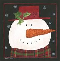 Snowman IV Fine Art Print