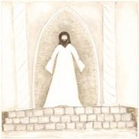 Jesus Teaches at Temple Fine Art Print