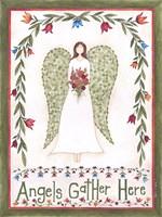 Angels Gather Fine Art Print