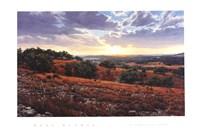 Smithson Valley Sunset Fine Art Print