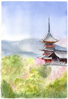 Asian Landscape I Fine Art Print