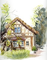 Cottage Fine Art Print