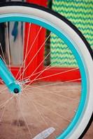 Blue Bicycle Fine Art Print
