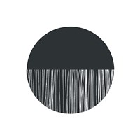 Scandi Ball Framed Print