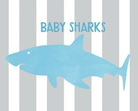 Baby Sharks II Fine Art Print