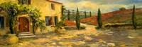 Tuscan Fields Fine Art Print