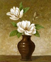 Flowering Magnolia Fine Art Print