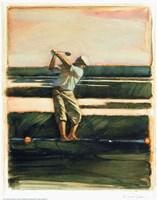 Golfer Fine Art Print
