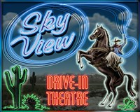 Skyview Drive In II Fine Art Print
