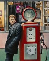 James Dean Fine Art Print