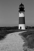 Black and Lighthouse Fine Art Print