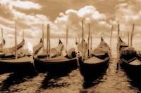 Venice Gondolas Fine Art Print