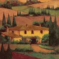 Tuscany Villa Fine Art Print