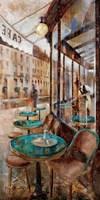 Terraza Cafe de Flore Fine Art Print