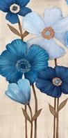 Fleurs Bleues I Fine Art Print