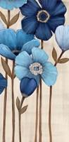 Fleurs Bleues II Fine Art Print