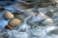 Stones and Waves Fine Art Print