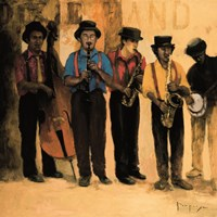 Dixie Band Fine Art Print