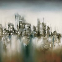Urban Haze Fine Art Print