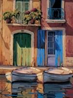 Reflejos de Marsella II Fine Art Print
