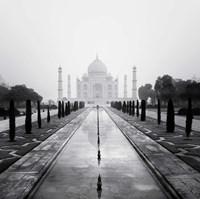 Taj Mahal - A Tribute to Beauty Fine Art Print