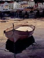 Barca al Contraluz Fine Art Print