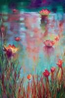 Garden Reeds Fine Art Print