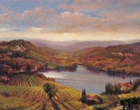 Vineyard View I Fine Art Print