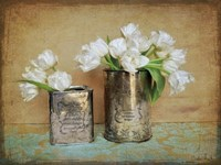 Vintage Tulips I Fine Art Print