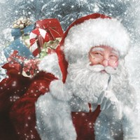 Santa Presents Fine Art Print