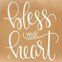 Bless Your Heart Fine Art Print
