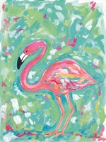 Summer Flamingo Fine Art Print