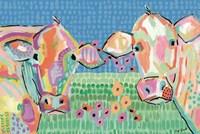 Moo Series:  Lucy & Peggy Fine Art Print