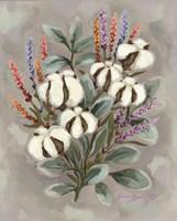 Cotton Bouquet Fine Art Print