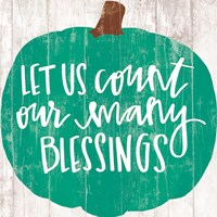Our Many Blessings Fine Art Print
