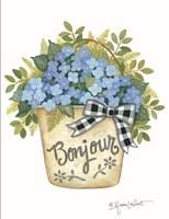 Hydrangeas Bonjour Fine Art Print
