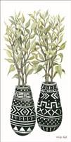 Mud Cloth Vase I Fine Art Print