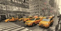 5th Avenue Taxi Fine Art Print