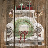 Christmas Truck Fine Art Print