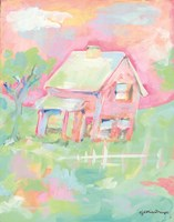 Sherbet Cottage Fine Art Print