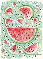 Watermelon Weather Fine Art Print