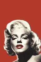 Red Lips Marilyn I Fine Art Print