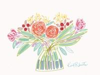 February Bouquet Fine Art Print