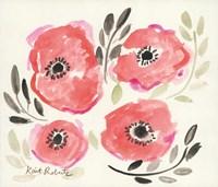 Poppies in Punch Fine Art Print