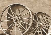 Like a Wagon Wheel Fine Art Print