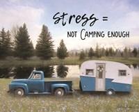 Camping Stress I Fine Art Print
