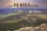 It's a Big World Out There Fine Art Print