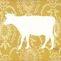 Cow Silhouette Fine Art Print