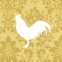 Rooster Silhouette Fine Art Print