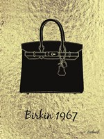 Golden Birkin Trophy Framed Print